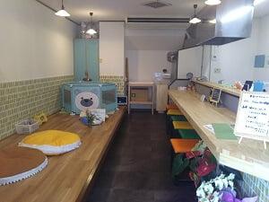 ママコティの店内の雰囲気の写真