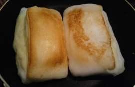 フライパンでこんがり焼いた写真