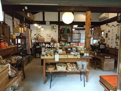 きりん商店の店内の雰囲気の写真