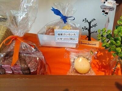 タルト専門ライカの焼き菓子セットの写真