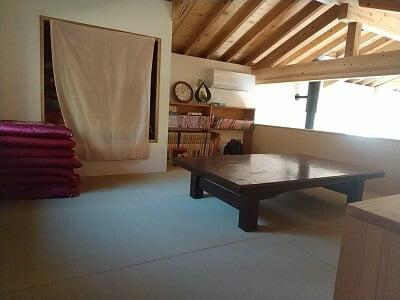 きりしま月の舟の2階の畳部屋の写真