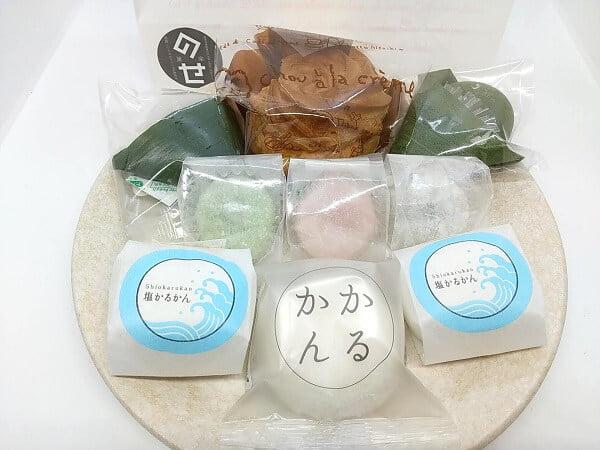 のせ菓楽の買ったお菓子の写真