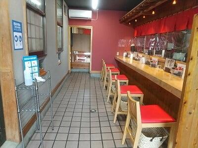 桃太郎の店内の雰囲気の写真