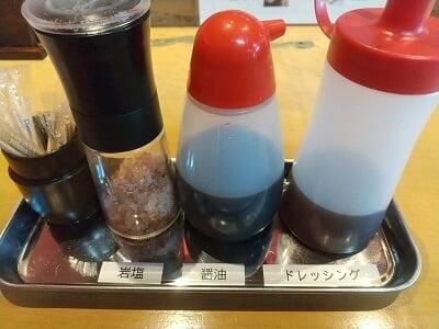 桃太郎のテーブルセットの写真