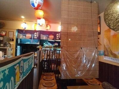 沖縄酒楽やがての前の雰囲気の写真
