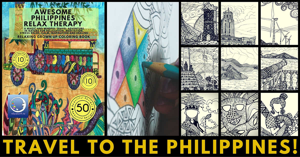 Stress Relief Coloring Book Philippines
