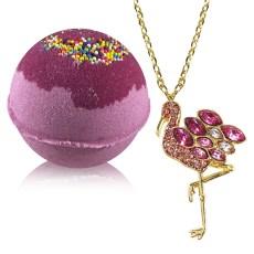 Bath Bombs with Jewelry