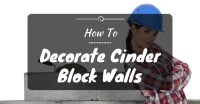 Ideas On How To Decorate Cinder Block Walls