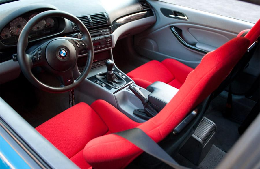 Bmw E46 M3 Imola Red Interior