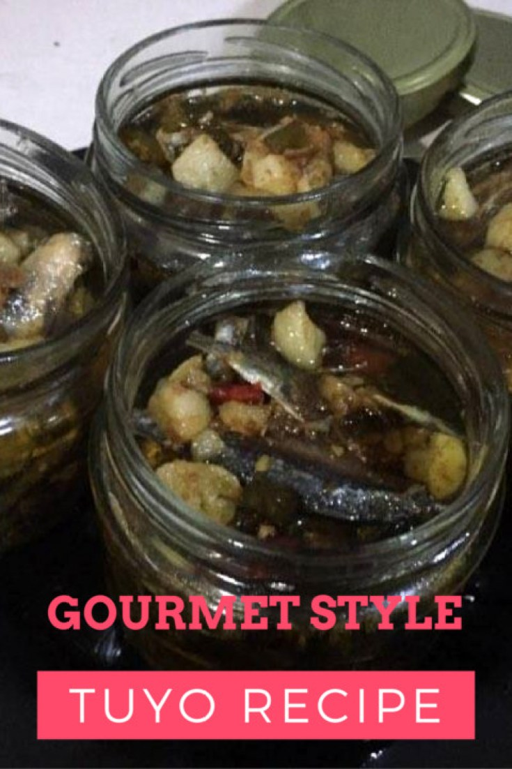Gourmet Tuyo Recipe. All Pinoy. Super Yummy! -Relax lang Mom Filipino Food Blog