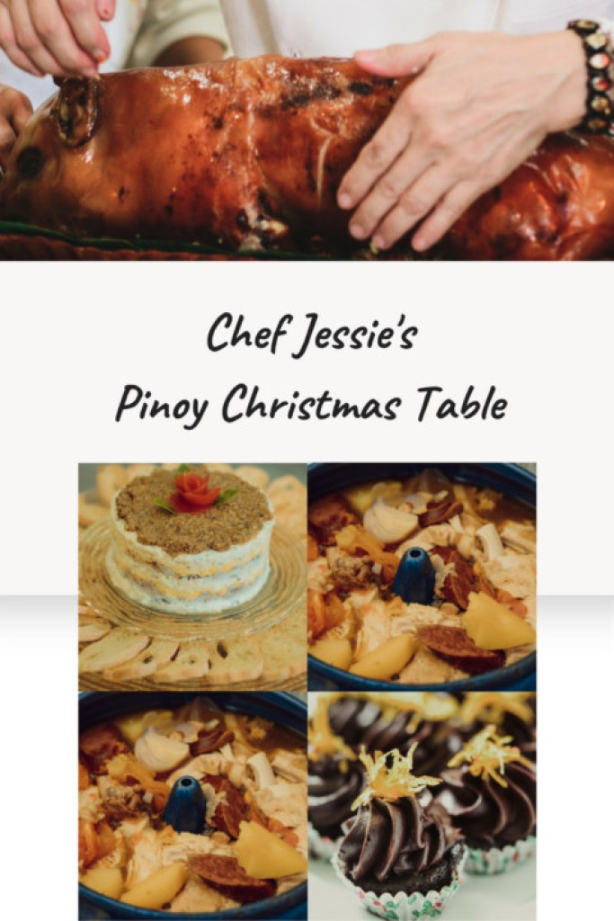 Pinoy christmas recipes with chef jessie sincioco at the maya chef jessies pinoy christmas table how to prepare pinoy christmas recipes noche buena menu forumfinder Choice Image