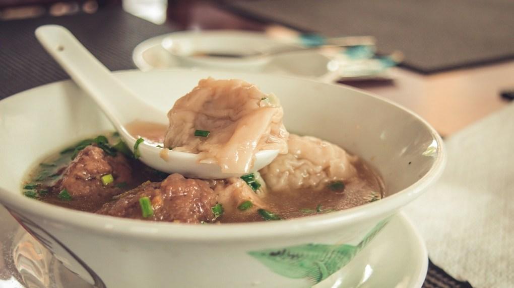 Siomai Soup