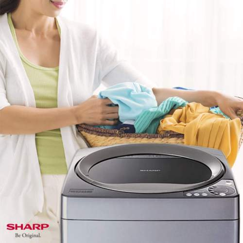 My Secret Fabric Softener + Sharp's Fully Automatic Washing Machine