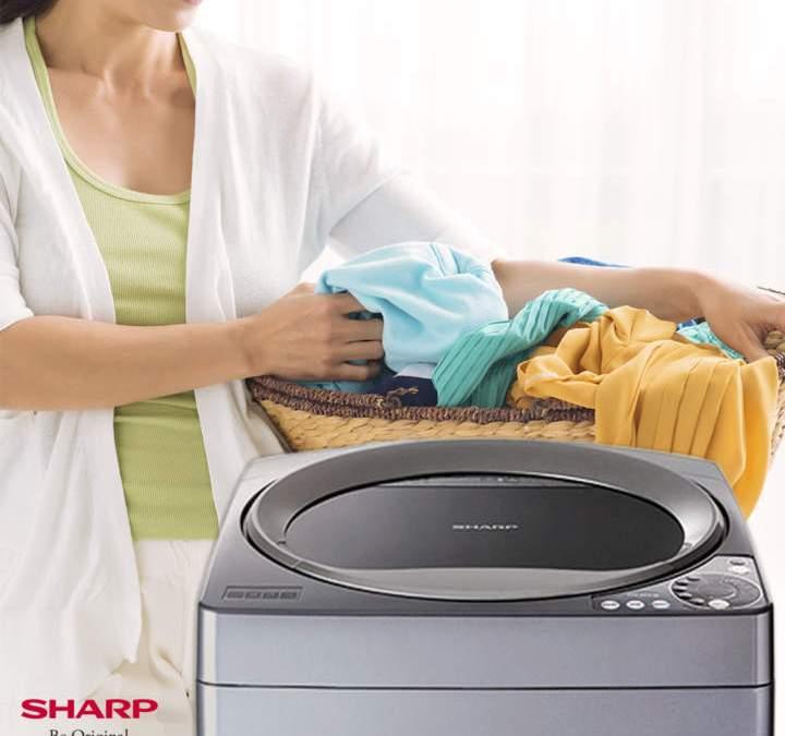 My Secret Fabric Softener + Sharp's Fully Automatic Washing Machine
