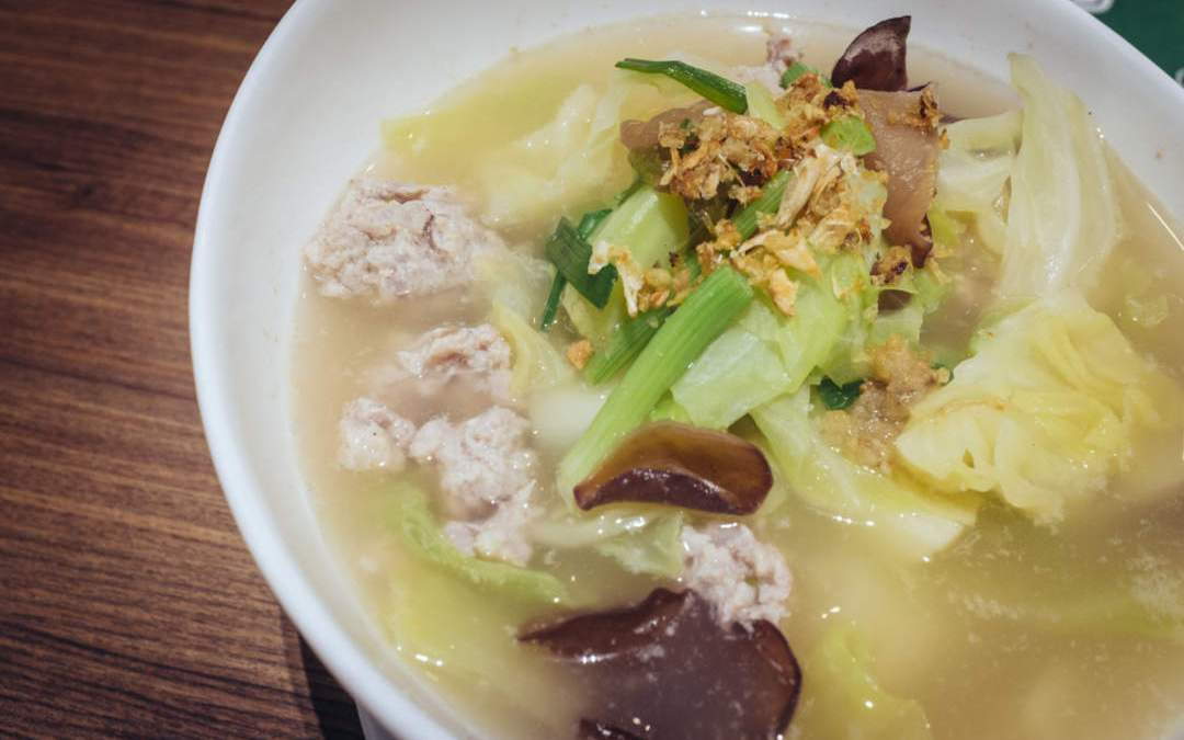 Ginisang Repolyo (Pork and Cabbage Soup)