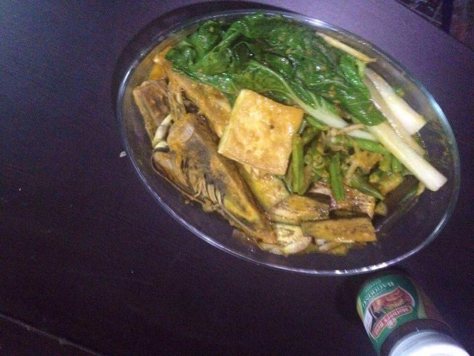 vegetarian kare kare recipe