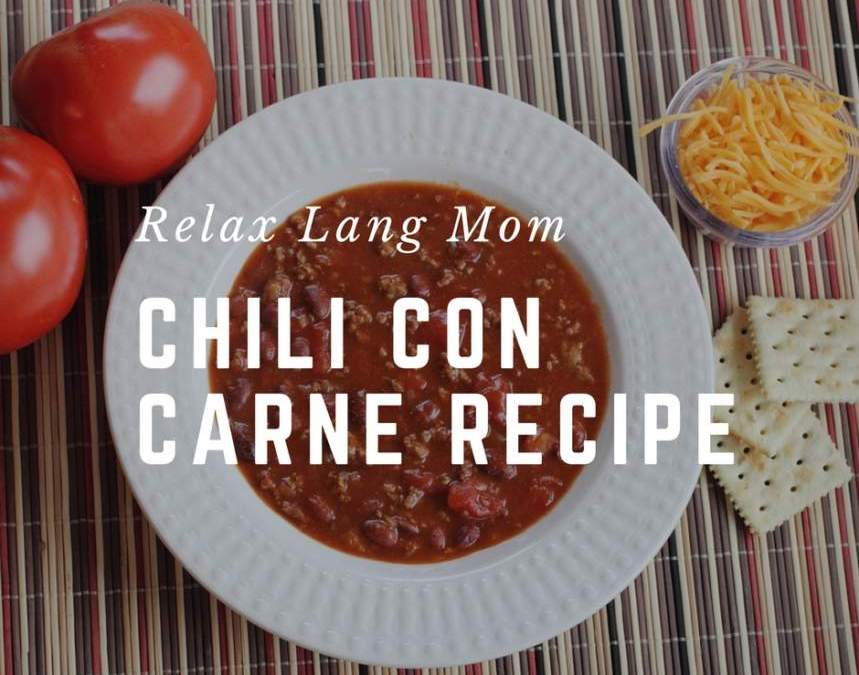 5 steps to quick Pinoy Chili con Carne