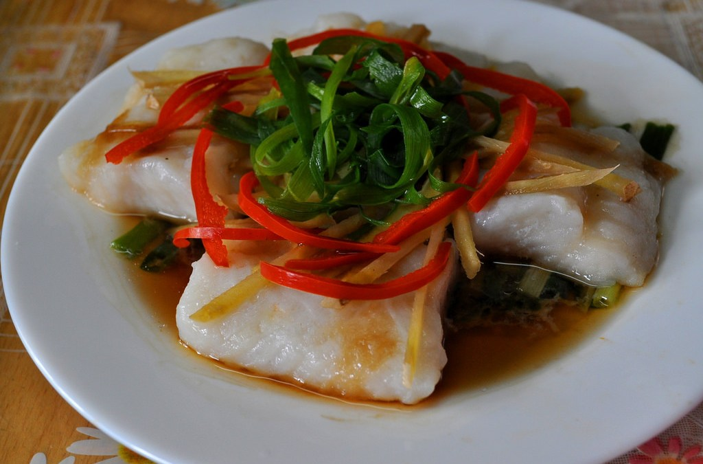 Steamed Cream Dory Fish Fillet Recipe (Chinese Style)
