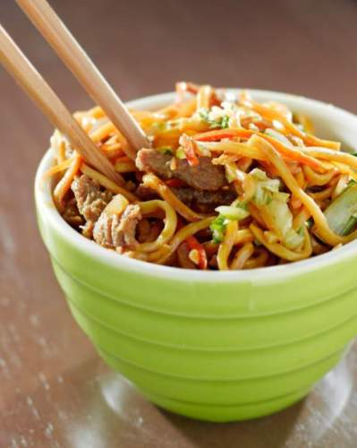 How to Cook The Best Beef Lo Mien Noodles