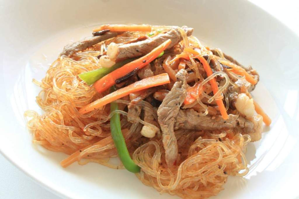 Bonchon Chap Chae Recipe - Relax Lang Mom Filipino Food Blog
