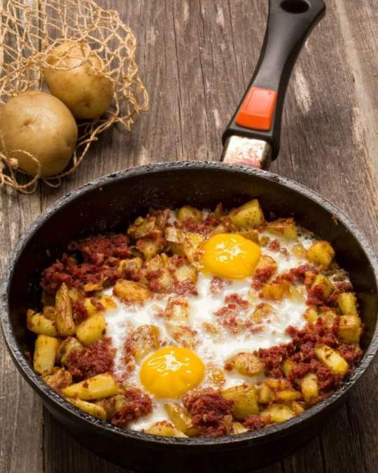 Corned Beef Potato Hash Recipe