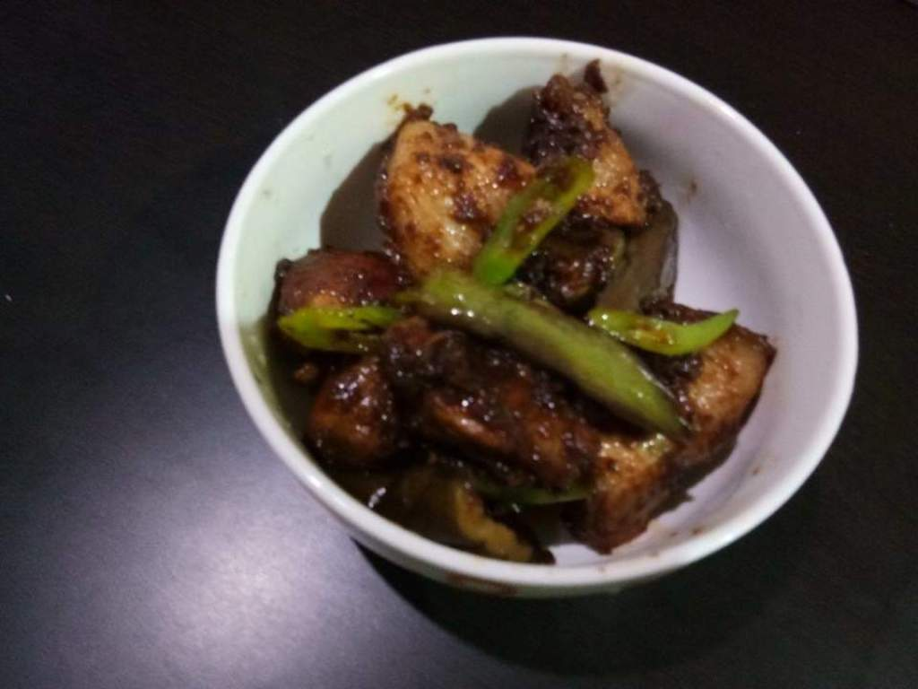 Binagoongang baboy recipe (2)