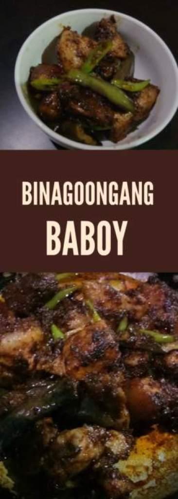 Binagoongang Baboy Recipe