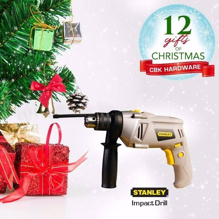 DIYers of all stripes will be thrilled with new gear to play with this holiday season. Give them a Stanley Impact Drill available in leading hardware stores nationwide or order online at www.cbkhardware.com   #cbkhardware #hardwareph #homeimprovement