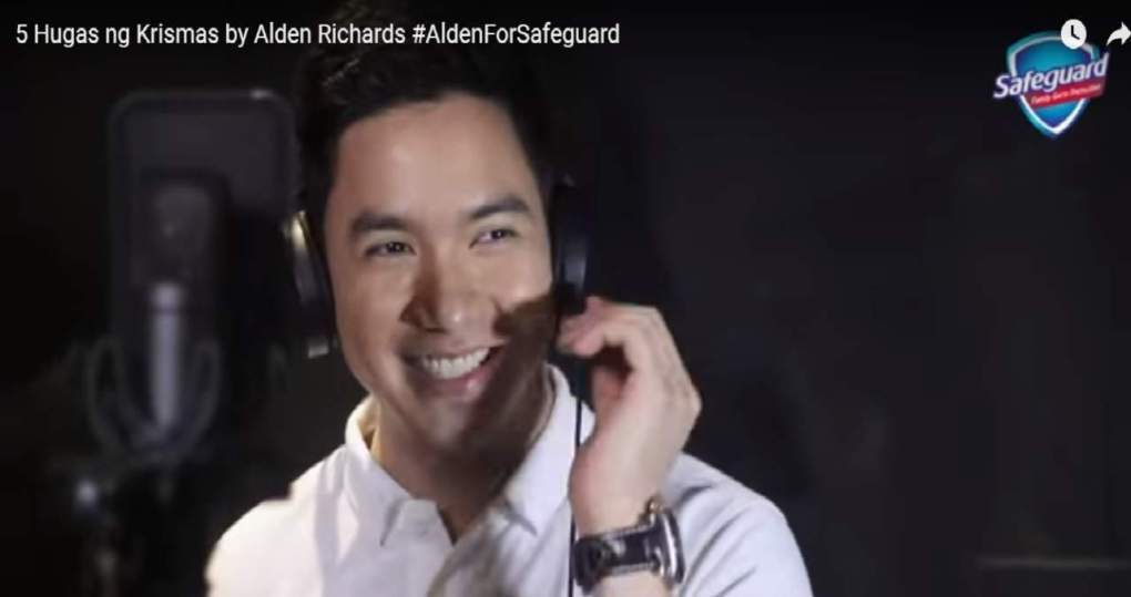 Alden Richards Hand Washing Video Safeguard