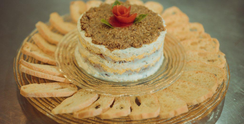 Smoked Milkfish and Bihod Pie with Croutons