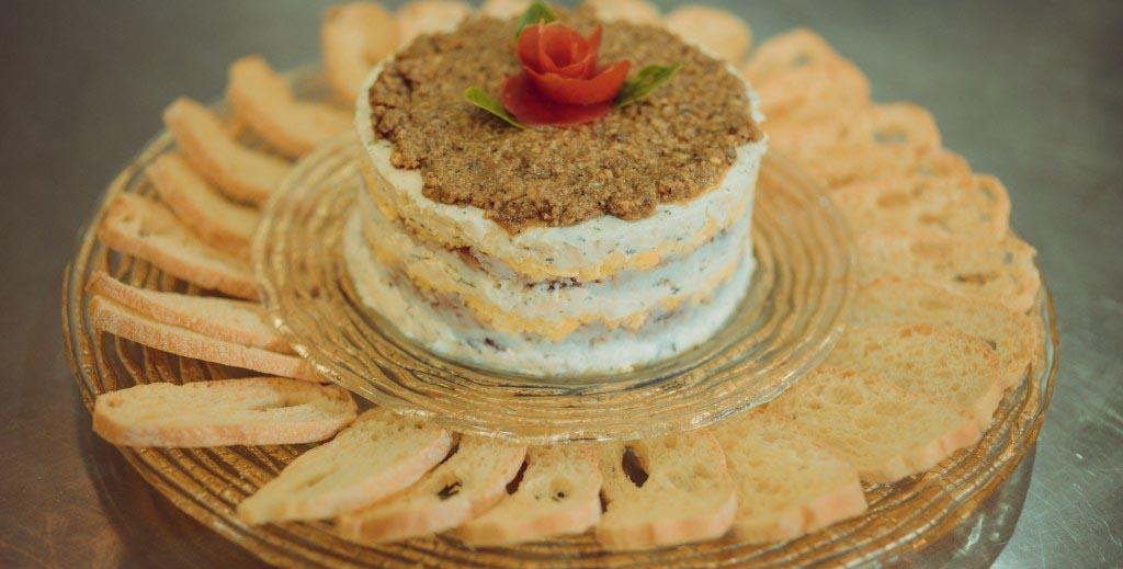 Smoked Milkfish and Bihod Pie with Croutons -Filipino Appetizer
