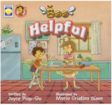 Filipino Story books for children - Bee Helpful by Joyce Piap - Go