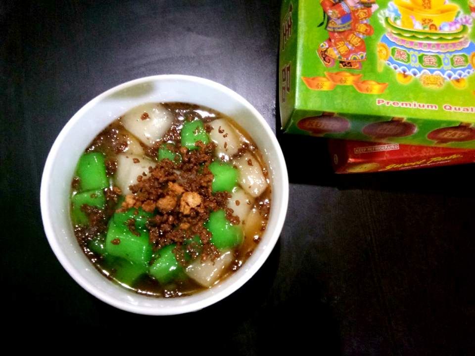 tikoy sa latik -tikoy recipe