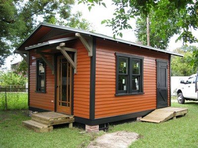 A Brand New Small Guest Home From Historic Shed