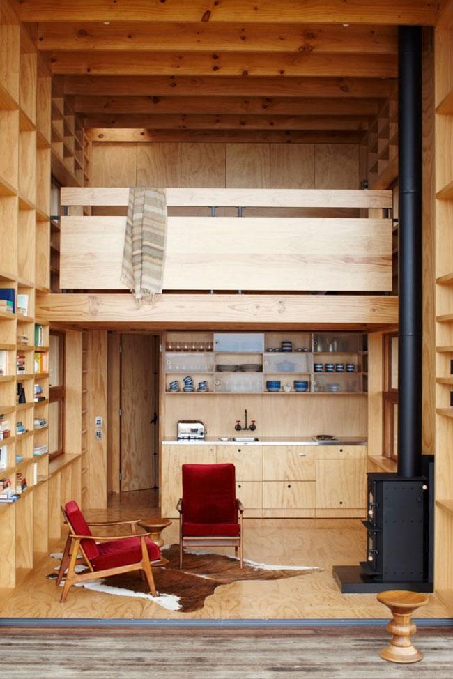 TWELVE DAMN FABULOUS TINY HOUSE CABIN and SMALL HOUSE INTERIORS  Relaxshaxs Blog
