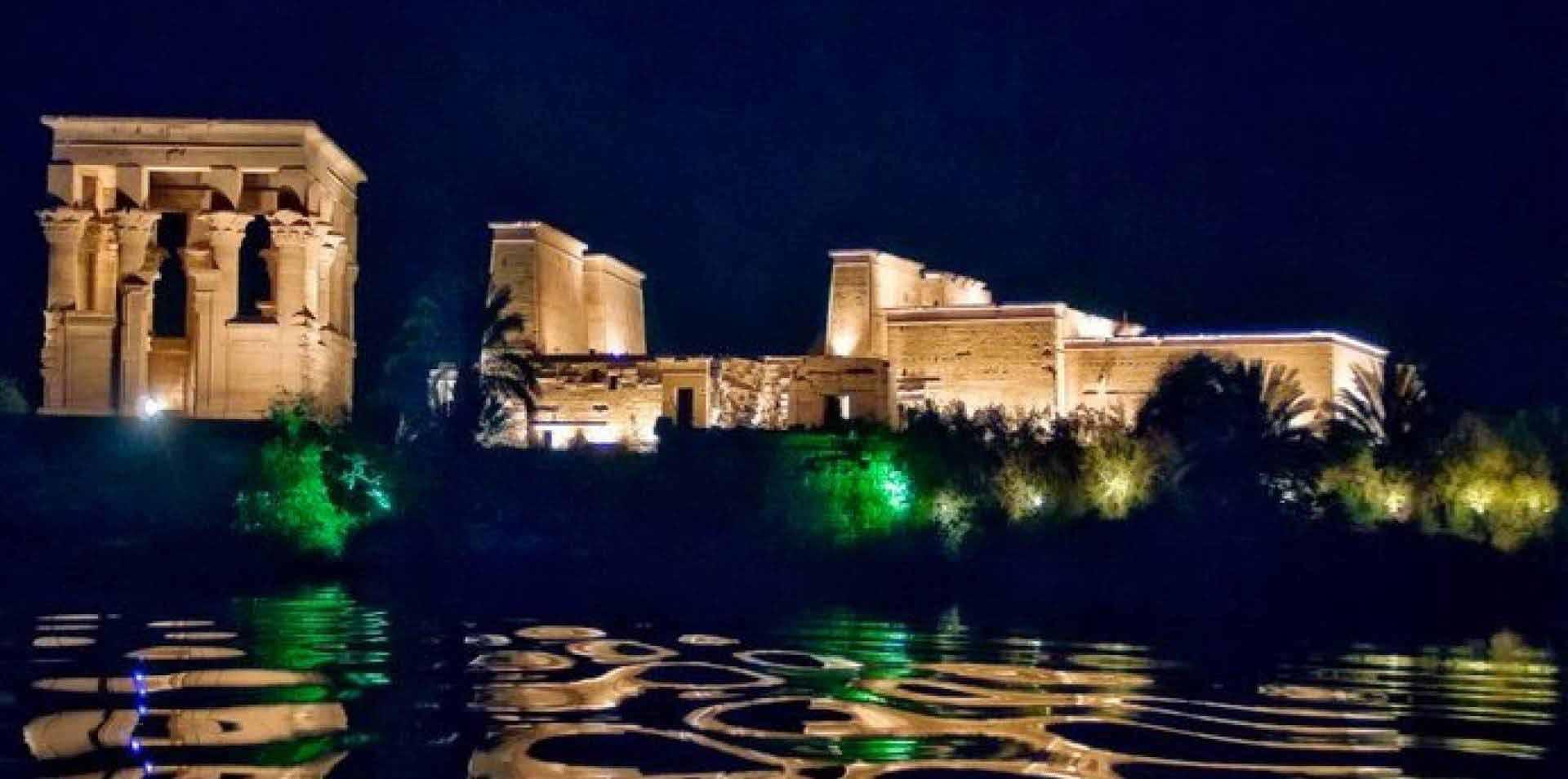 Aswan Sound Light Show: Philae Temple – Relax Tours Egypt