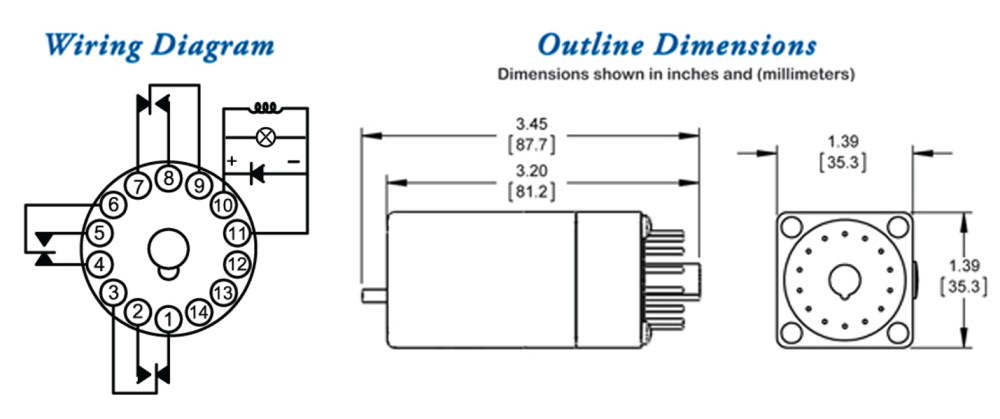 medium resolution of  250 series ge replacement special purpose relays dimensions wiring diagram