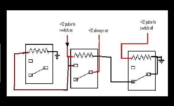 relay switch mechanism