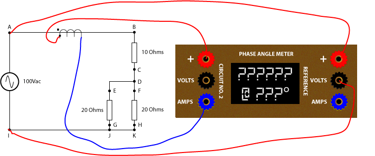Ab C D Circuit Diagram How To Measure Phase Angles With A Phase Angle Meter