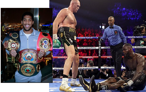 Anthony Joshua Blasts Deontay Wilder Over his Excuses for Defeat