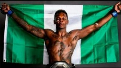 Israel Adesanya,MMA Awards, Israel Adesanya Wins Fighter Of The Year At The World MMA Awards, Relay Vibes