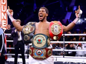 , Anthony Joshua Denied Reports He Wasn't Allowed To Represent Nigeria, Relay Vibes