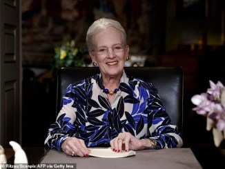 Queen Margrethe First European Royal