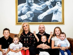 Tyson Fury reveals his wife Paris is pregnant, Tyson Fury Reveals his Wife Paris is Pregnant With their Sixth Child, Relay Vibes