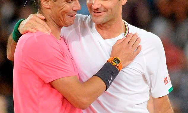 Rafael Nadal could face Roger Federer in an exhibition match