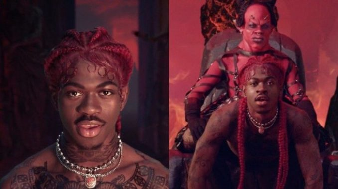 Lil Nas X give the Devil a lap dance in new wild music video