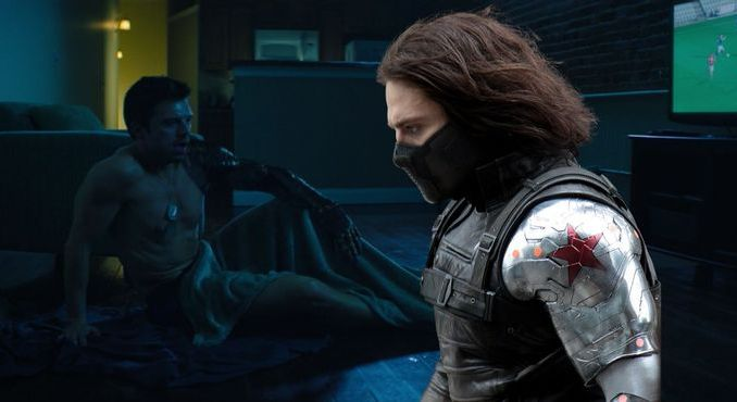 Bucky's Winter Soldier Wounds Are Healing, Bucky's Winter Soldier Wounds Are Healing, Relay Vibes