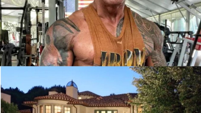 Check out Dwayne Johnson The Rock $27.8m mansion