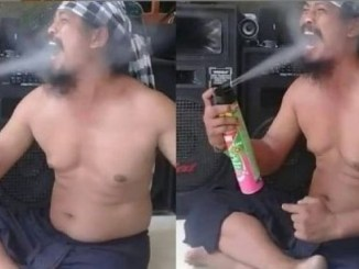 Guru who went viral for spraying insecticide into his mouth is dead, Guru who went viral for spraying insecticide into his mouth is dead, Relay Vibes