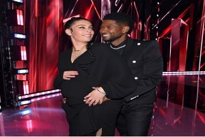 Usher and girlfriend announce they are expecting second child together, Usher and girlfriend announce they are expecting second child together, Relay Vibes